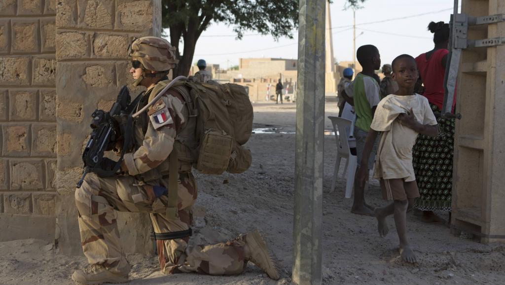 Un soldat français de l'opération Barkhane au Mali, le 5 novembre 2014.