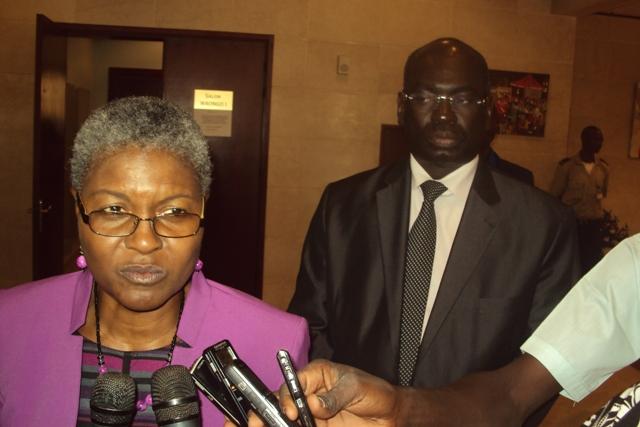 Mercy Tembon repru00E9sentante BM au Burkina