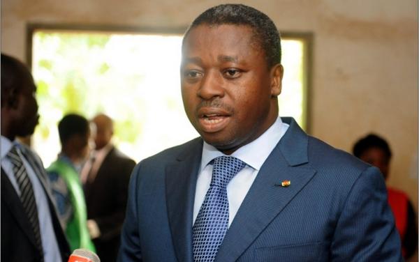 Le Président togolais Faure Gnassingbe