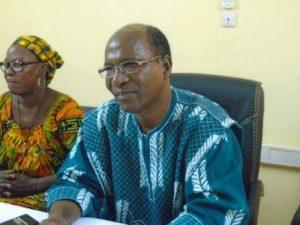 Kouliga Nikiéma, le SG de la Sous-section de l'UPC, porte-parole des conseillers de l'opposition politique de Saponé.
