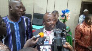 Saïbou Koanda, membre de la Coalition : « Nous sommes là pour dire que trop, c'est trop ».