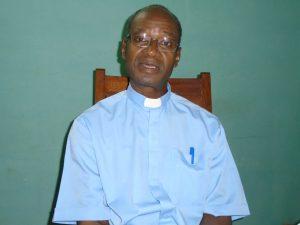 L'Abbé Jacob Yoda, chancelier et vicaire judiciaire de l'archidiocèse de Ouagadougou