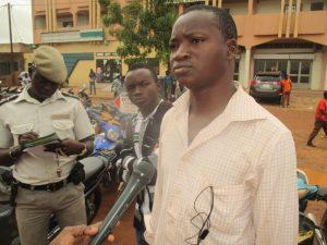 Abraham Damiba exige une sensibilisation de la part des policiers avant l'application de certaines règles