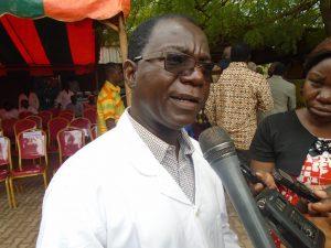 Le Dr Paté Sawadogo, chef du centre national de lutte contre la cécité