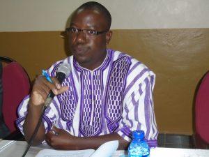Casimir Kaboré, président du comité de pilotage,