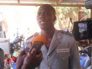 Le Commissaire Mahama Kaboré