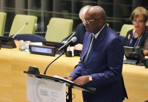 Le Président du Faso lors de son intervention à la tribune des Nations Unies