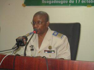 Colonel major Oumarou Sawadogo, président du comité d'organisation