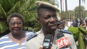 Le Directeur général de la police, Lazare Tarpaga