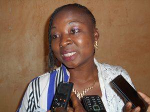 Le maire de l'arrondissement 3 de Ouagadougou, Raïmatou Ouédraogo/Savadogo