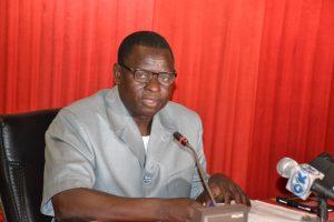 Moussa Nana, président du mois des centrales syndicales