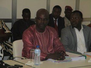 Boureima Barry, président de la commission