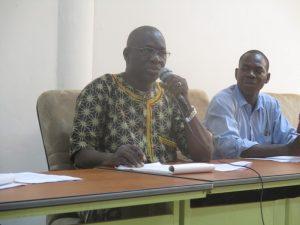 Pissyamba Ouédraogo, secrétaire général du SYNTSHA