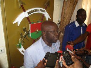 Simon Compaoré ministre d'Etat