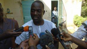 Le secrétaire général de la CGTB, Bassolma Bazié