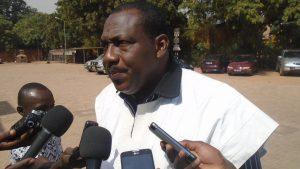 Le président de la SAGES, Dr. Dramane Konaté