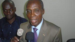 Le président du comité d'organisation, Damo Justin Barro