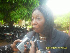 Professeur-agrégée Eleonore Kafando responsable medicale de l'AHBF