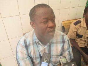 Abdoul Aziz Sangla, accompagnant, de malade