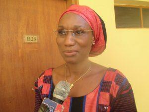 Ramatou Sawadogo,  Directrice de la santé et de la famille (DSF)