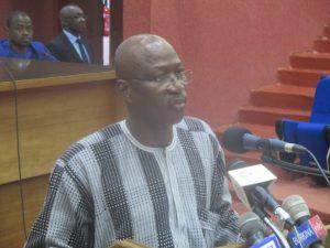 Stéphane W. Sanou, Ministre du commerce, de l'industrie et de l'artisanat