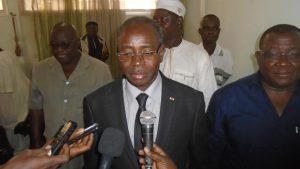 Le ministre en charge de la Fonction publique, Clément Sawadogo