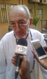 Le représentant du Cardinal Philippe Ouédraogo, Père Joseph Clochard